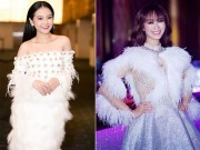 """Thời trang sao Việt xấu: Không ít người đẹp bị """"dìm hàng"""" vì lông vũ"""