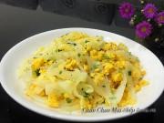 Bếp Eva - Đơn giản với củ cải trắng xào trứng thơm ngon