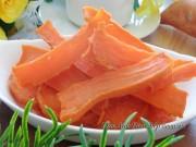 Tự làm khoai lang sấy dẻo  & #39;dễ như ăn cơm & #39; để đãi khách ngày Tết