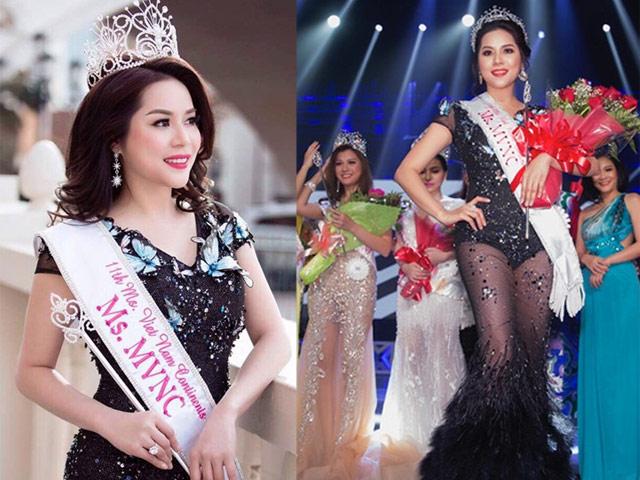 Jasmine Le nhận cú đúp tại  ' Hoa hậu Người Việt Thế giới 2017 '