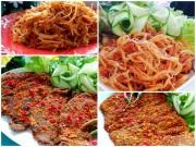 Bếp Eva - 4 món thịt khô tuyệt ngon chẳng ai nỡ chối từ