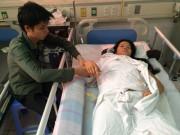 Tin tức - Cùng con đi kiếm thức ăn, người phụ nữ bị ngã liệt nửa người