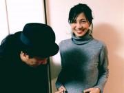 """Làng sao - Sao nữ Nhật Bản mang bầu 5 tháng vẫn """"ngậm đắng nuốt cay"""" vì chồng ngoại tình"""