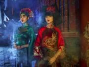 Làng sao - Lạ lẫm với hình ảnh mới đầy ma mị của Hạ Vy, Phan Hà Phương