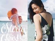 Làng sao - Vợ chồng Tăng Thanh Hà đưa con trai đi du lịch Philippines