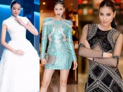 """Thời trang - Trung thành với những kiểu váy này, Phạm Hương sẽ không bao giờ """"rớt giá"""""""