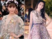 Thủy Tiên, Phạm Băng Băng rạo rực sắc xuân với váy hoa 3D bay bổng