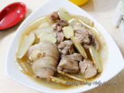 Bếp Eva - Canh gà nấu dầu mè bổ dưỡng cho cả nhà