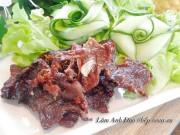 Bếp Eva - Tự làm thịt heo khô ngọt kiểu Thái tuyệt ngon đón năm mới