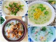 Bếp Eva - Thêm 4 món cháo ngon và bổ dưỡng cho bữa sáng