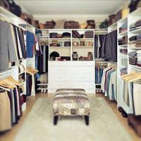 Phòng để quần áo cho người sành điệu