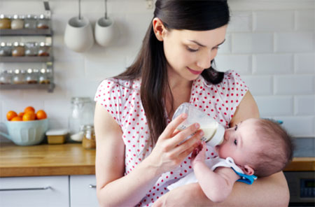 9 điều nên biết khi bé bú bình - 2