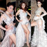Ngắm 3 siêu mẫu hàng đầu Việt Nam khoe dáng nuột nà
