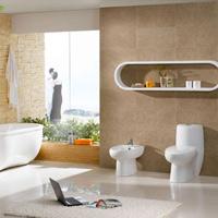 Cách làm sạch sàn và tường nhà vệ sinh