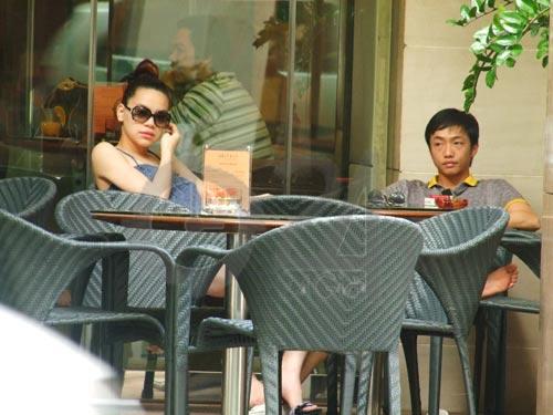 Những cặp chồng thấp vợ cao trong showbiz Việt - 1