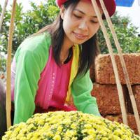 Những cô gái làng hoa Hà Nội ngày xưa
