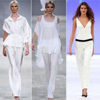 Trang phục trắng- 'cây kem mát lạnh' cho mùa hè