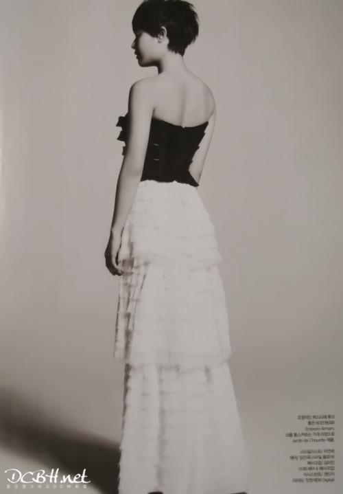 Moon Geun Young cá tính với tóc ngắn trên Bazaar - 6