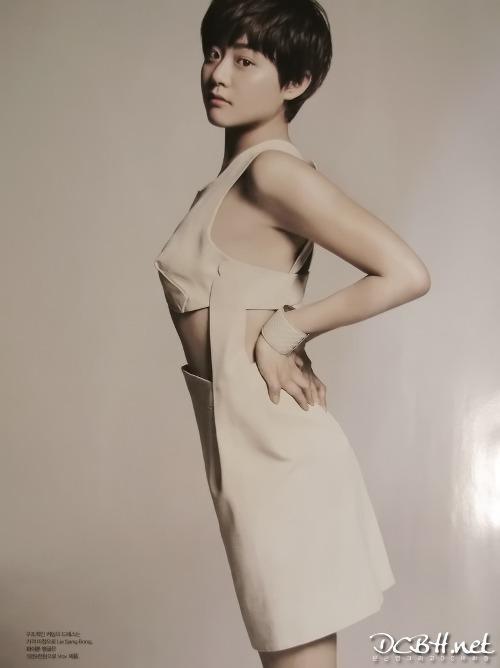 Moon Geun Young cá tính với tóc ngắn trên Bazaar - 8