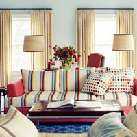 9 thiết kế phòng khách gây ấn tượng