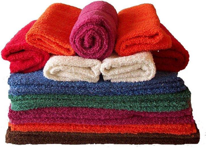 Làm mềm khăn mặt bị cứng - 1