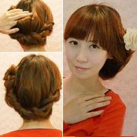 4 cách tạo kiểu tóc dễ thương