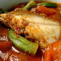 Cá nấu cà rau thơm ngon tuyệt hảo