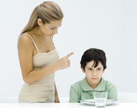 Kìm hãm cơn nóng khi dạy con - 1