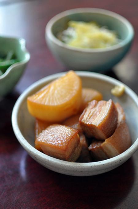 Thịt kho củ cải kiểu Nhật - 5