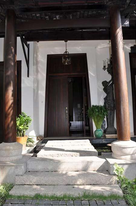 Biệt thự đẹp của hoa hậu Hà Kiều Anh - 2