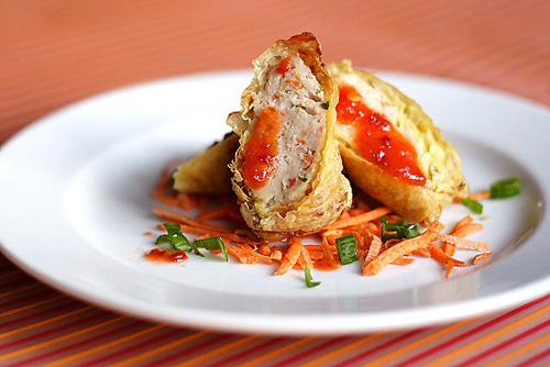 Nem cuộn nhân thịt gà, thịt heo - 2