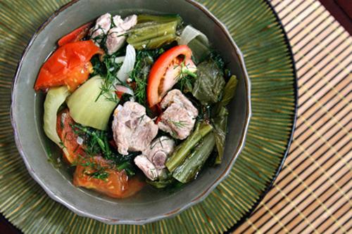 Sườn nấu dưa chua ấm lòng ngày lạnh - 4