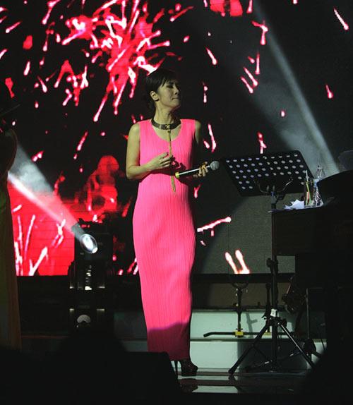Diva Hồng Nhung đang có bầu? - 2