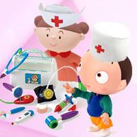 """Mẹ kể con nghe: """"Bé làm bác sĩ"""""""