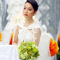 Linh Nga khoe ảnh kỷ niệm ngày cưới đẹp lung linh