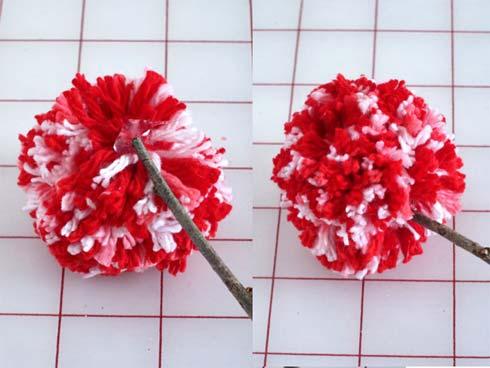 """Vuốt"" tim chàng bằng hoa len xinh xinh - 5"