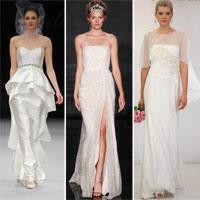 6 mốt váy cưới cho cô dâu 2012