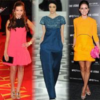 Váy Victoria Beckham 'lấn sân' thảm đỏ