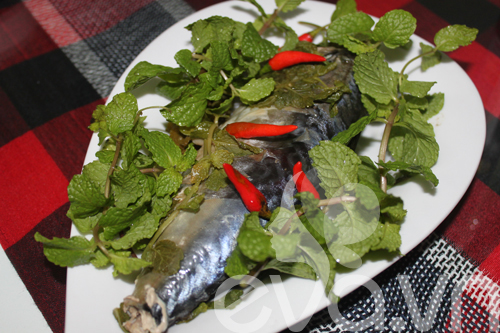 Cuối tuần, đổi món với cá hấp lá bạc hà - 7