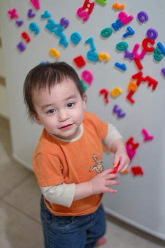Cách cực hay dạy trẻ 1- 2 tuổi học chữ - 1