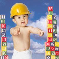 Cách cực hay dạy trẻ 1- 2 tuổi học chữ