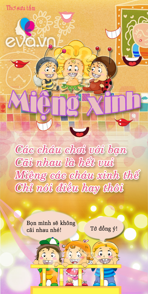 "me ke con nghe: ""mieng xinh"" - 1"