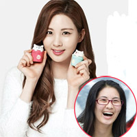 Sao Hàn phờ phạc khi không make up