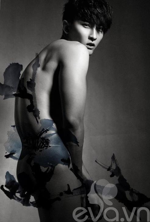 Sốc: Chan Than San nude cùng... hoa - 3
