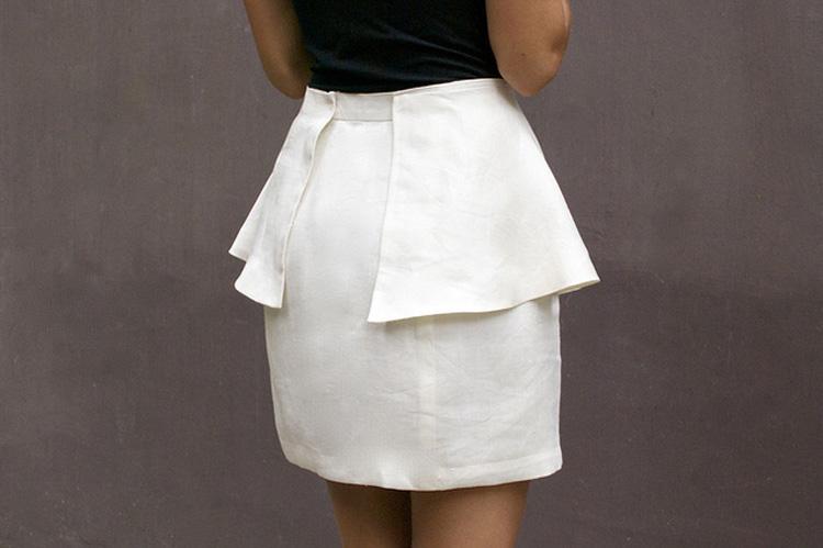 Qúa đơn giản để có 1 chiếc váy peplum sành điệu đúng không?