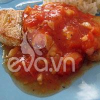 Cá sốt cà chua, đơn giản mà lại ngon!