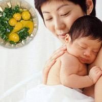 Trứng ngải cứu: Ăn nhiều tốt mẹ, lợi con?