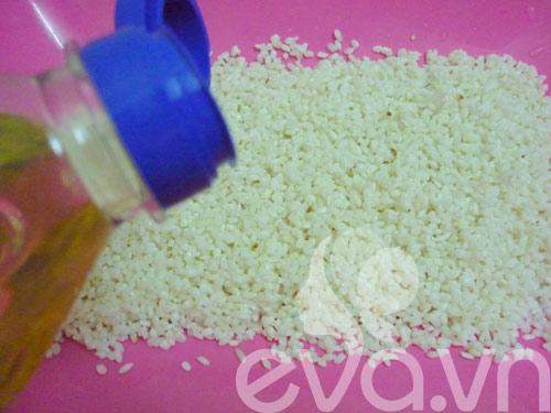Ngày Rằm làm xôi vò hạt sen thơm dẻo - 5