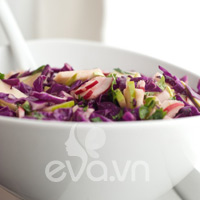 Salad cải tím ngọt mát