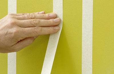 """Video: Tự sơn tường sọc vằn """"dễ như bỡn"""" - 1"""
